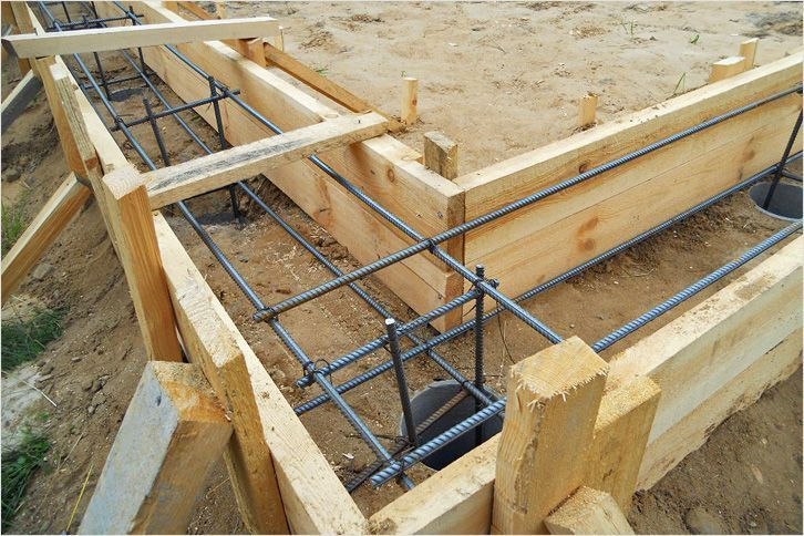 Как сделать опалубку для ленточного фундамента Строительный Двор