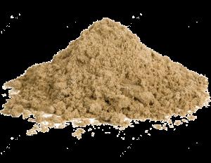 песок включения