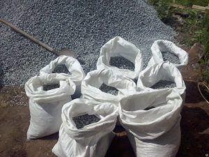 Песок щебень цемент
