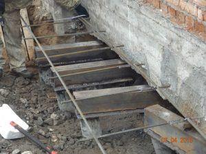 фундамент ремонт
