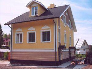 сайдинг дом