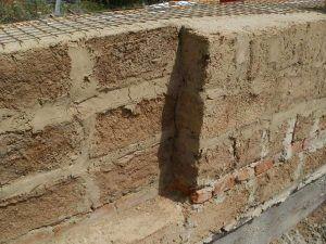 Стены из шлакобетона